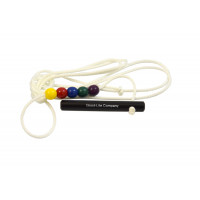 Brock string (3 m) with 5 beads (1 piece)