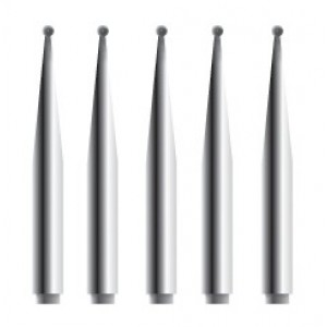 Alger Brush II Ersatzfräsen, 5 Stück steril (1.0 mm)