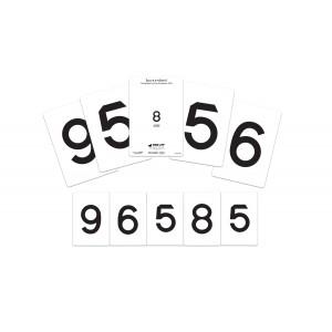 LEA Zahlen-Karten, 40 m / 60 m
