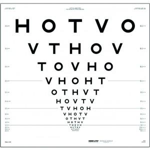 HOTV ETDRS chart