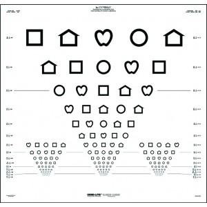 LEA Symbols ETDRS chart