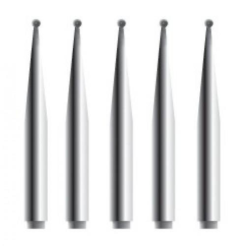 Alger Brush II Ersatzfräsen, 5 Stück steril (0.5 mm)