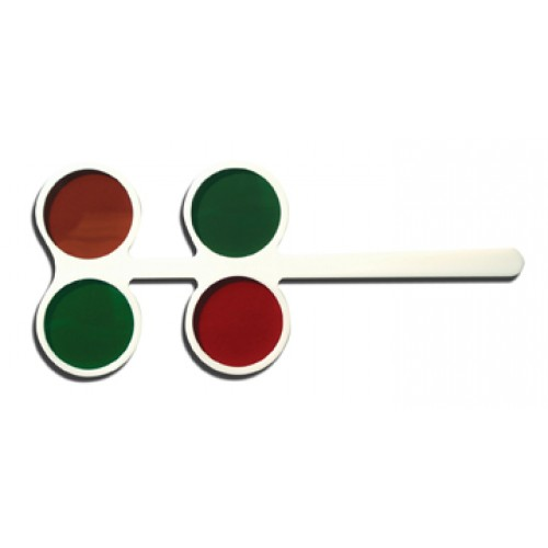 Rot-Grün-Flipper 4 Gläser