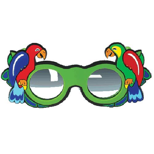 Refraktionsbrille Papagei