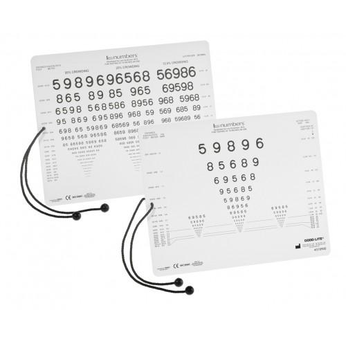 LEA Nahtest Zahlen Karte