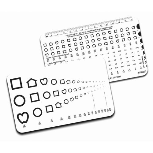 RUNGE-Nahkarte – LEA™-Symbole, 40 cm