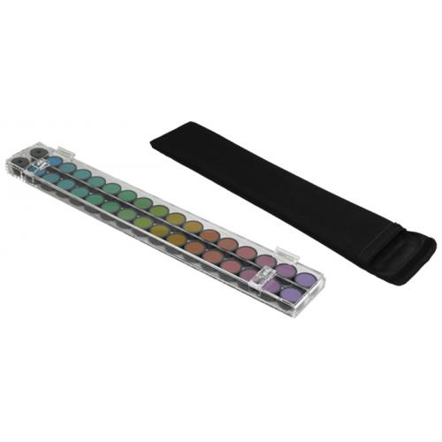 LEA-Panel-16-Farbtest – Doppelset in Klarsichtbox, große Farbflecke (Ø 3,3 cm)