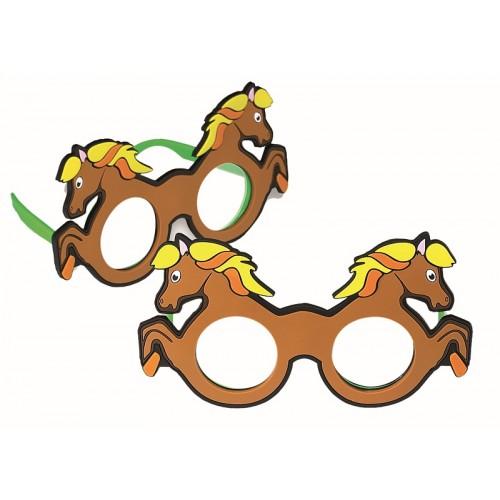 Refaktionsbrille Pferd, +2.5 D