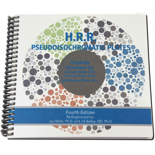 HRR-Farbtest, laminiert, 20 Tafeln