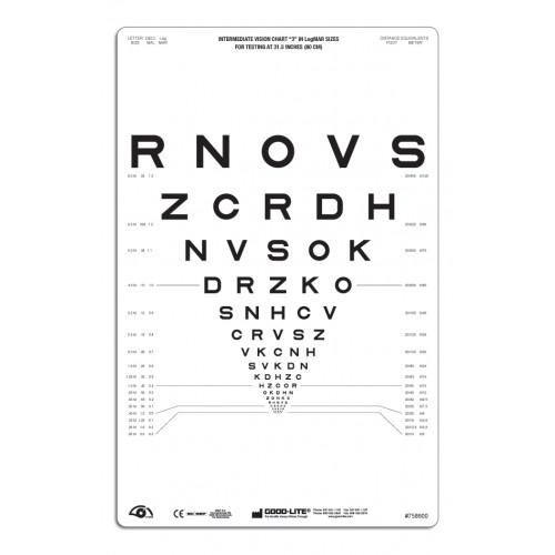 """SLOAN Buchstaben-Tafel """"3"""", lichtdurchlässig 80 cm"""