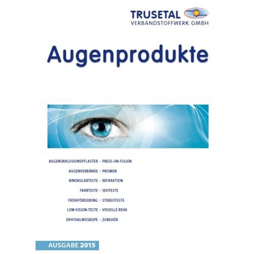 Katalog AUGENPRODUKTE, aktuelle Version (keine Berechnung/keine Versandkosten!)