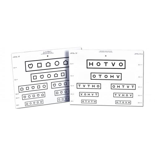 LEA Symbole / HOTV (Schnell-Screening !)
