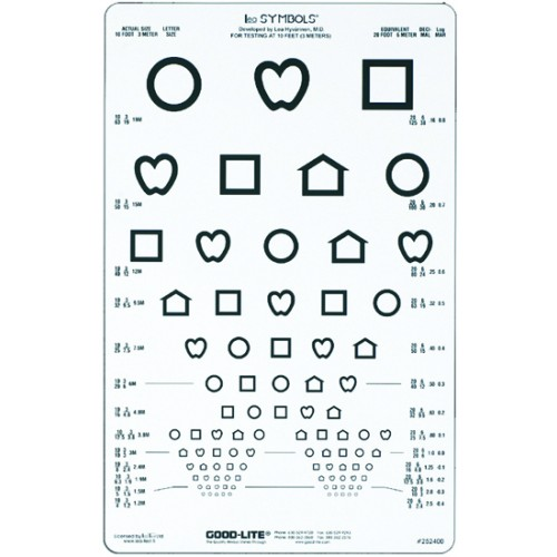 LogMAR LEA-Symbole