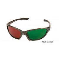 Rotgrünbrille für Erwachsene