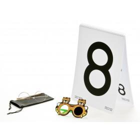 LEA™-Low-Vision-Buch – Zahlen, Set oben gebunden