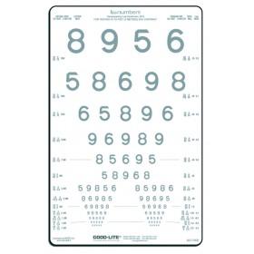 LEA™-Kontrasttafel – Zahlen 5 %
