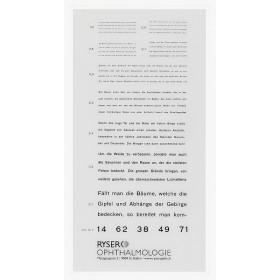 Birkhäuser-Nahlesetafel (deutscher Text)