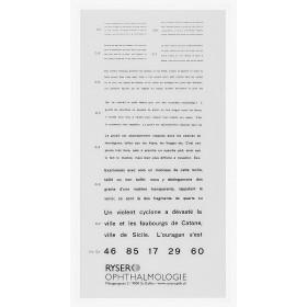 Birkhäuser-Nahlesetafel (französischer Text)