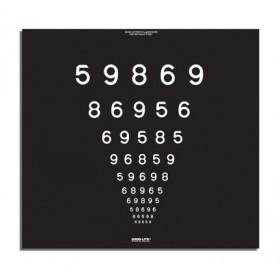 Super-Pinhole-Macula-Tafel – LEA™-Zahlen - 1,5 m