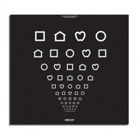 Super-Pinhole-Macula-Tafel – LEA™-Symbole - 1,5 m