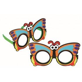 Refraktionsbrille Schmetterling (+2,50 D)