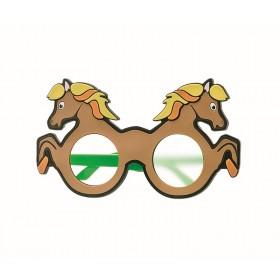 Pferd-Mattglasokkluder