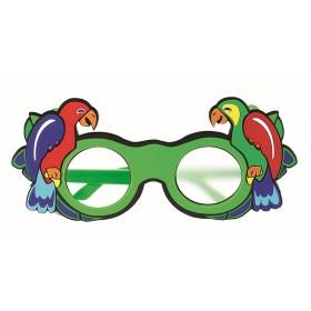 Papagei-Mattglasokkluder