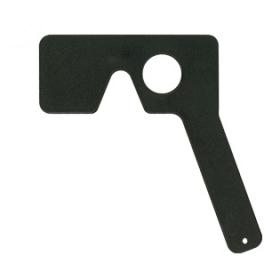 Okkluder/Vorhalter ohne Lochblende