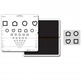 Falttafel LEA™-Symbole (mit 10 Linien, 3 m)