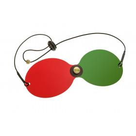 Rotgrünbrille (mit Elastikband)