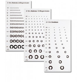C-Test Ferne (3 Tafeln) für 5 m