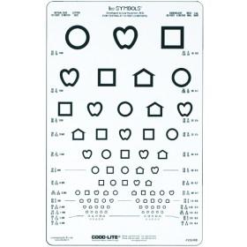 LEA™-Symbole – Lichtdurchlässige Sehtafel