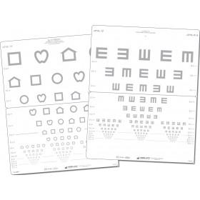 LEA™-Kontrastwandtafel – Symbole/E-Haken (2,5 %)