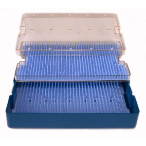 Sterilisationsbehälter doppelbödig