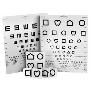 LEA Symbole / EH Wandtafel mit 15 Linien
