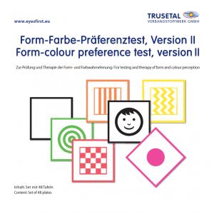 Form-Farbe Präferenztest, Version II