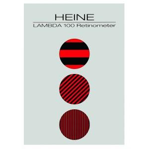 Patientenkarte für Lambda 100 Retinometer