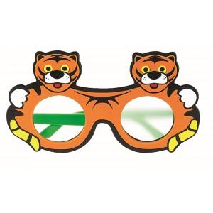 Mattglasokkluder Tiger