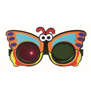 Rotgrünbrille Schmetterling