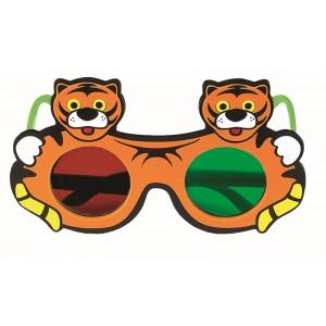 Rotgrünbrille Tiger