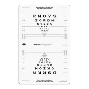 SLOAN Buchstaben Nahvisuskarte für ESC 1200