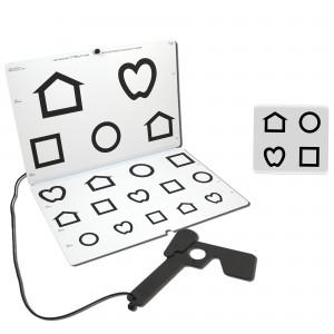 LEA Low -Vision-Tafel (Symbole)