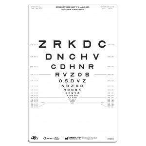 """SLOAN Buchstaben-Tafel """"2"""", lichtdurchlässig 66 cm"""
