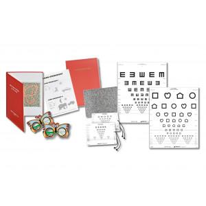 Sehtest-Set für Kinderärzte U7a