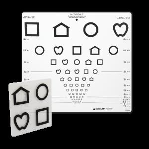 LEA™-Symbole, Wandtafel mit 10 Linien