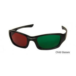 Rotgrünbrille für Kinder