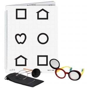 LEA Low Vision Buch Symbole, Set left bound