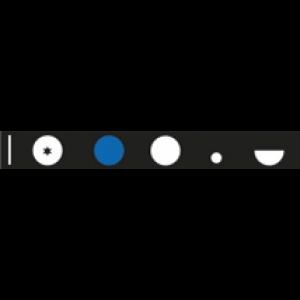 HEINE BETA® 200 Ophthalmoskop M2 Blenden