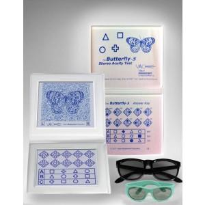 """VAC-Stereotest """"Schmetterling""""-S  - Standardtest mit geometrischen Figuren"""