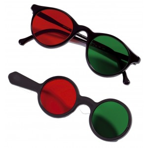 Rotgrün-Vorhalter (OCULUS®)